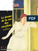 Maléfices - Supplement - No.1 - Le Drame de La Rue Des Recollets