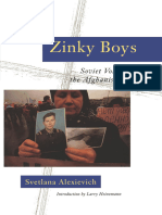 Alexievich, Svetlana - Zinky Boys (Norton, 1992)