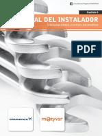 Manual del Instalador Capítulo 6 - Instalaciones contra Incendios