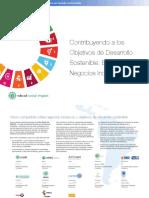 El enfoque de Negocios Inclusivos 2016 - Objetivos de Desarrollo Sostenible de la Agenda 2030
