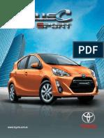 Prius c Sport 2014