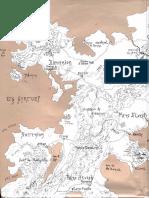 Tregor - Carte Et Materiel - Univers Médiéval Fantastique
