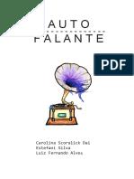 Livro Auto Falante