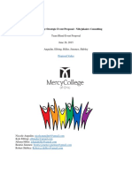 mercy college strategic event proposal - nibejukairo consulting