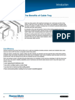Metallic Cable Tray - TnB