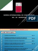 NIC 18 Exposicion