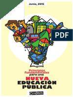 Principios Fundamentales Para Una Nueva Educación Pública