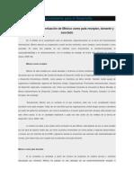 México y El Financiamiento Para El Desarrollo