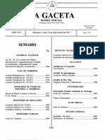 2009-10-07- G- Ley No. 704, Ley creadora del Sistema Nacional para el Aseguramiento de la Calidad de la Educación...
