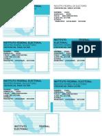 Credenciales de Elector