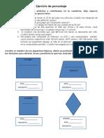 Ejercicio de Porcentaje y Perimetros