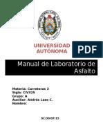 Manual de Laboratorio de Pavimentos