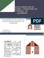 """""""ASOCIACION DOMINICANA DE CONSTRUCTORES Y PROMOTORES DE VIVIENDAS, INC""""."""