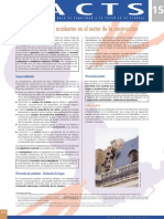 Factsheet 15 - Prevencion de Accidentes en El Sector de La Construccion