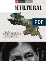 Diversidad Cultural de La Region Cusco
