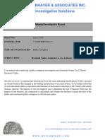 Valdes Public Corruption Report