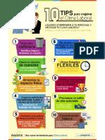 Tips para mejorar el clima laboral de tu empresa
