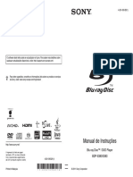 Blu Ray Sony BDP S380