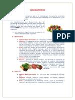 Oligoelementos y Dietas