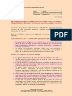 REGLAMENTO DE LA LEY DE ARMAS DE FUEGO, MUNICIONES, EXPLOSIVOS, PRODUCTOS PIROTÉCNICOS Y MATERIALES RELACIONADOS DE USO CIVIL - Ricardo Carrasco Francia