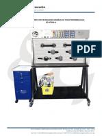 Modulo de Entrenamiento Hidraulica-Electrohidraulico Perfilado