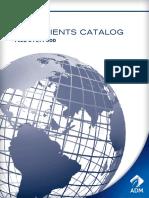 ADM Feed Ingredients Catalog