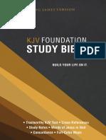 KJV Foundation Study Bible - Book of Matthew