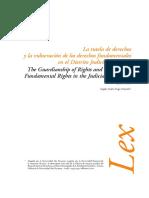 Lectura 7_la Tutela de Derechos y La Vulneracion de Los Derechos Fundamentales