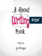 all about writing book