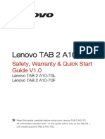 Lenovo Tablet Guide
