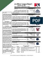 7.6.16 Minor League Report