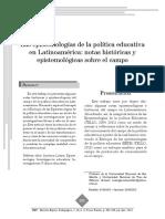 Cesar Tello Epistemologia de La Politica Educativa