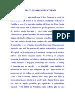 Manifiesto Decretos Zamoranos de Cojedes