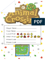 ACNL Booklet Updated