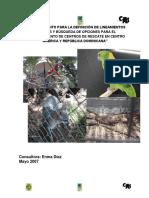 1 Asesoramiento Para La Definicion de Lineamientos Tecnicos y Busqueda de Opciones Para El Establecimiento de Centros de Rescate en Centro America y Republica Dominicana