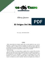 Queen, Ellery - El Origen Del Mal