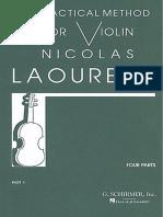Metodo de Violino Laoureux 1
