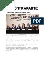 25-11-2015 Contraparte - La Envidiable Agenda de Moreno Valle