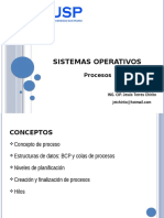 SO - Procesos - USP - Huacho