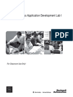 PlantPAX Process Application Development Lab1