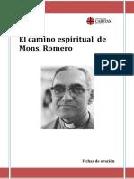 Fichas Monseñor Oscar Romero