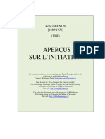 Apercus Sur Initiation