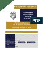 4 Administración Contemporánea y Liderazgo Emprendedor