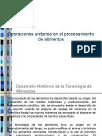 Operaciones Unitarias de La Industria de Los Alimentos (1)