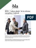 25-11-2015 Puebla Noticias -RMV, 'Valioso Aliado' de La Reforma Energética; Coldwell