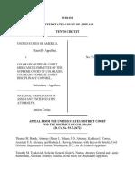 United States v. CO Supreme Court, 10th Cir. (1996)