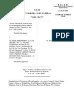 Swanson v. Guthrie Independent, 135 F.3d 694, 10th Cir. (1998)