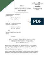 FDIC v. UMIC INC., 136 F.3d 1375, 10th Cir. (1998)