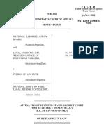 NLRB v. Pueblo of San Juan, 228 F.3d 1195, 10th Cir. (2000)