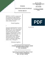 Falvo v. Owasso Sch Dist I011, 10th Cir. (2000)